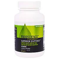 """FoodScience, """"All-Zyme"""", комплекс пищеварительных ферментов, 90 таблеток, купить, цена, отзывы"""