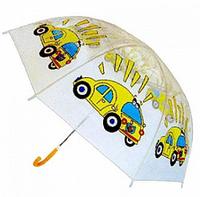 """Детский зонт для мальчика """"Машинки"""""""