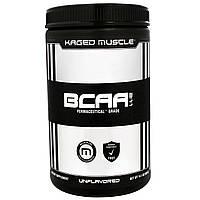 KagedMuscle, Аминокислоты с разветвленными боковыми цепями (BCAA) в соотношении 2:1:1, без ароматизаторов, 14,1 унции (400 г), купить, цена, отзывы