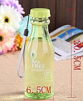 Бутылка пластиковая с закручивающейся крышкой 550мл