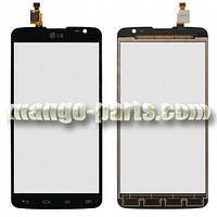 Тачскрин/Сенсор LG D685 G Pro Lite/D686 черный high copy