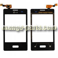 Тачскрин/Сенсор LG E400 Optimus L3 Dual Sim черный high copy