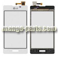 Тачскрин/Сенсор LG E450/E460 Optimus L5 II белый high copy