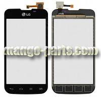 Тачскрин/Сенсор LG E455 Optimus L5 II черный high copy