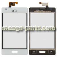 Тачскрин/Сенсор LG E610 Optimus L5/ E612 белый high copy