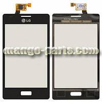 Тачскрин/Сенсор LG E610 Optimus L5/ E612 черный high copy