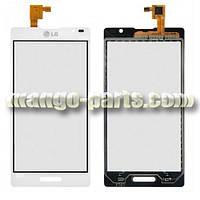 Тачскрин/Сенсор LG P760 Optimus L9/P765/P768 белый high copy