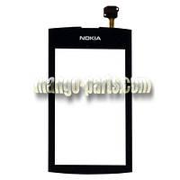 Тачскрин/Сенсор Nokia 305/306  Asha черный high copy