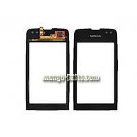 Тачскрин/Сенсор Nokia 311 Asha черный high copy