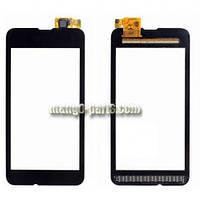 Тачскрин/Сенсор Nokia 530 Lumia черный high copy
