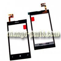 Тачскрин/Сенсор Nokia 520/525 Lumia черный оригинал (Китай)