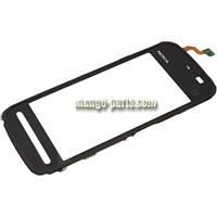 Тачскрин/Сенсор Nokia 5800 черный high copy