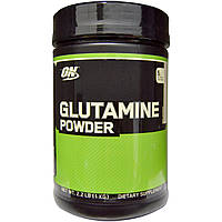 Optimum Nutrition, Глютамин в порошке, неароматизированный, 2,2 фунта (1 кг), купить, цена, отзывы