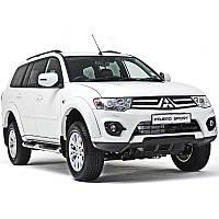 Mitsubishi Pajero Sport  - замена галогенных линз на би-ксеноновые,установка ксенона