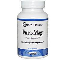 InterPlexus Inc., Fura-Mag, 90 капсул, купить, цена, отзывы