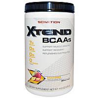 Scivation, XTend, BCAAs (аминокислоты с разветвленными боковыми цепями), со вкусом манго, 14,6 унции (415 г), купить, цена, отзывы