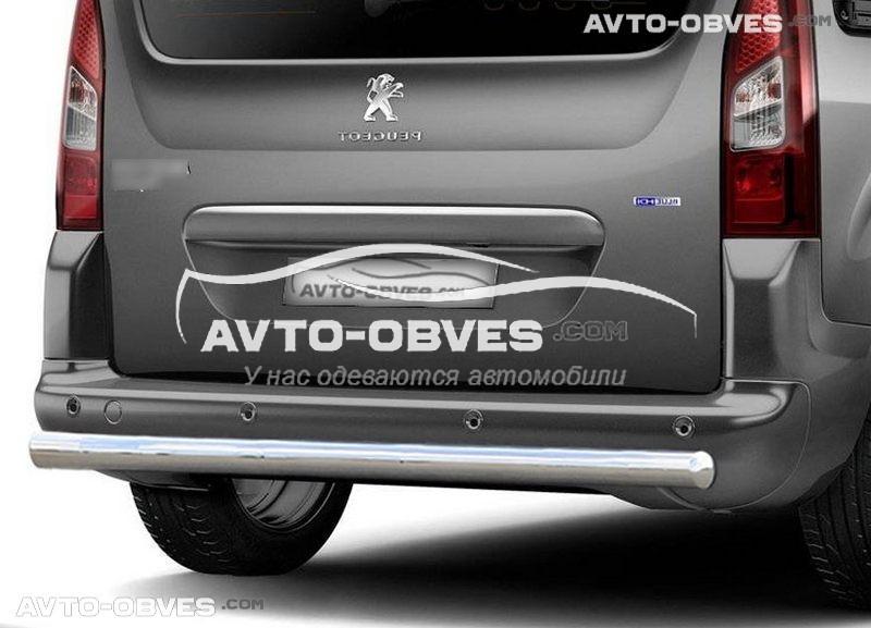 Захист задній Peugeot Partner Tepee (П.К. AK)
