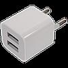 USB адаптер - блочок в розетку (2 выхода)