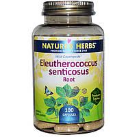 Nature's Herbs, Корень элеутерококка, 100 капсул, купить, цена, отзывы