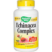Nature's Way, Echinacea Root Complex, 450 mg, 180 Vegetarian Capsules