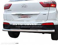 Защита заднего бампера Hyundai Creta 2016 - ... труба прямая