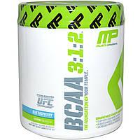 Muscle Pharm, BCAA, 3:1:2 Powder, Blue Raspberry, 30 servings, 215g, купить, цена, отзывы