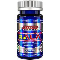 ALLMAX Nutrition, R+ альфа-липоевая кислота (макс. потенция R+ALA), 150 мг, 60 капсул, купить, цена, отзывы
