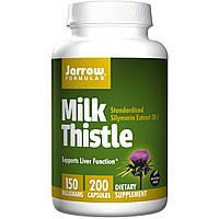 Jarrow Formulas, Молочный чертополох, 150 мг, 200 капсул, купить, цена, отзывы