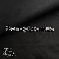 Ткань Оксфорд 600d pu черный (290 gsm)