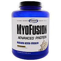 Gaspari Nutrition, MyoFusion, Advanced Protein, Vanilla Ice Cream, 4 lbs (1814 g), купить, цена, отзывы