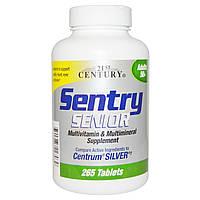 21st Century, Sentry Senior, мультивитаминная и минеральная добавка, для взрослых 50+, 265 таблеток