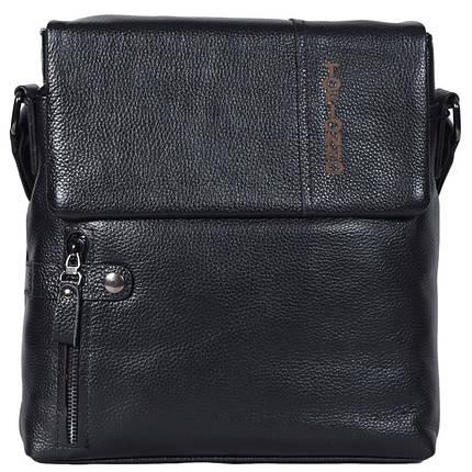 Мужская сумка черная, фото 2
