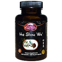 Dragon Herbs, He Shou Wu, 450 мг, 100 капсул, купить, цена, отзывы