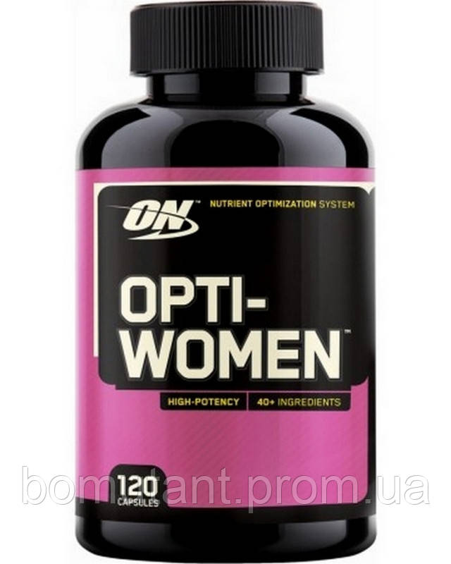 Optimum Nutrition Opti Women 120 капсул (USA)