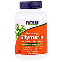 """Now Foods, """"Silymarin"""", сильнодействующий экстракт расторопши, 120 мягких желатиновых капсул с жидкостью, купить, цена, отзывы"""