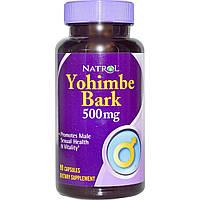 Natrol, Кора йохимбе, 500 мг, 90 капсул, купить, цена, отзывы