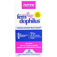 Jarrow Formulas, Fem Dophilus для женщин, 60 растительных капсул, купить, цена, отзывы