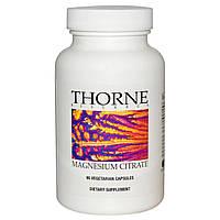 Thorne Research, Цитрат магния, 90 капсул, купить, цена, отзывы