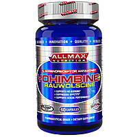 ALLMAX Nutrition, Yohimbine HCl + Rauwolscine, 3.5 mg, 60 Capsaules, купить, цена, отзывы