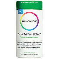 Rainbow Light, 50+ антивозрастной защитный комплекс витаминов, 180 мини-таблеток, купить, цена, отзывы