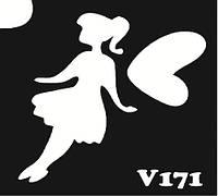 Nila Трафареты (6*6 см) V171