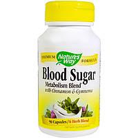 Nature's Way, Сахар крови, 90 капсул в растительной оболочке