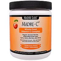 Madre Labs, Madre-C, комплекс витамина С из цельных продуктов, 7.62 унций (216 г), купить, цена, отзывы