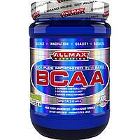 ALLMAX Nutrition, 100% чистые аминокислоты с разветвленной цепью, японский фармацевтический стандарт, без глютена, 80 порций, 400 г, официальный сайт