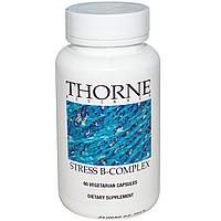 Thorne Research, Подавляющий стресс B-комплекс, 60 растительных капсул, купить, цена, отзывы