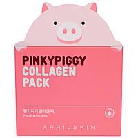April Skin, PinkyPiggy Коллагеновый Пакет для Кожи, 3,38 унций (100 г), купить, цена, отзывы