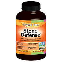 Crystal Star, Stone Defense (средство против камней), 60 вегетарианских капсул, купить, цена, отзывы