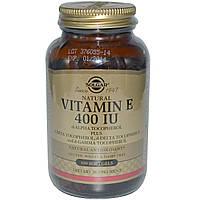 Solgar, Витамин Е, 400 МЕ, 100 капсул, купить, цена, отзывы