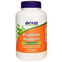 Now Foods, Prostate Support (поддержка предстательной железы), 180 желатиновых капсул, купить, цена, отзывы
