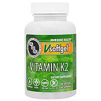 Advanced Orthomolecular Research AOR, Витамин K2, 60 желатиновых капсул, купить, цена, отзывы